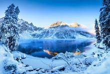 Scenic Winter Panorama
