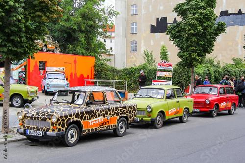 Εκτύπωση καμβά Trabant 601