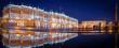 St. Petersburg Eremitage & Winterpalast bei Nacht