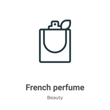 French Perfume Outline Vector ...