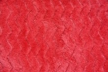 Texture Of A Fluffy Fabric