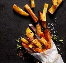 French Fries,  Baked Fries Fro...