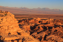 Sunset Over The Moon Valley / ...