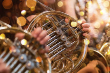 French Horn During A Classical...