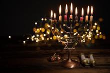 Concept Of Jewish Holiday Hanukkah