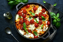 Pasta Casserole With Tomatoes ...