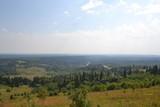 Fototapeta Do pokoju - The vastness of the Perm region: a summer day around the Belogorsky monastery