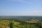 Fototapeta Do pokoju - summer day: view of the east side from the observation deck of the Belogorsky monastery in the Perm region