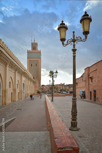 Fotografia, Obraz Moulay el Yazid Mosque in Marrackech, Morocco.