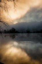 Sunrise At The Chattahoochee R...