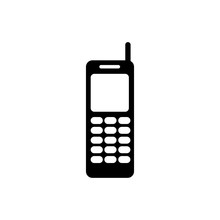 Call Phone Icon, Telephone Icon, Vector Design Symbol