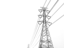 Power Transmission Tower With ...
