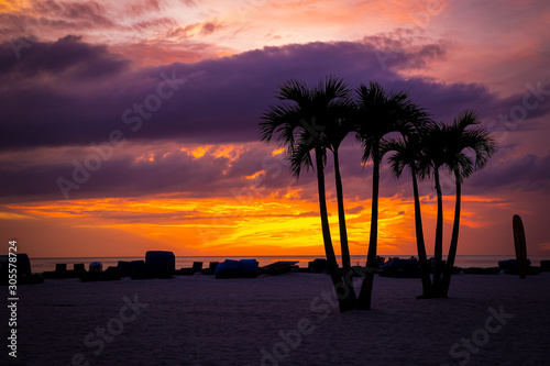 Photo View of the sunset in St. Pete Beach, FL
