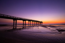 Sunrise At The St. Augustine Pier