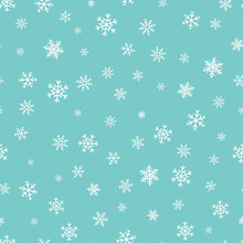 Vector Snowflakes Background. ...