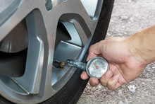 Car Tire Pressure Check Using ...