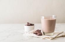 Glass Of Chocolate Milk