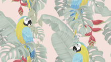 Botanical Seamless Pattern, Va...