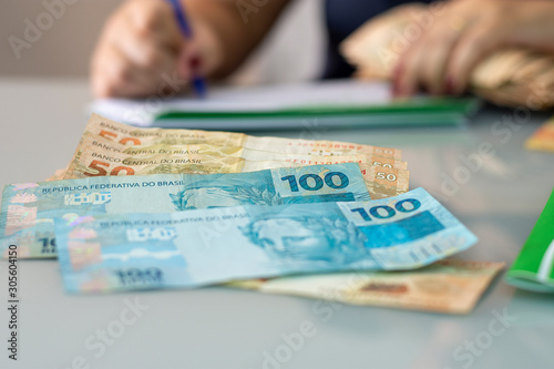 Real - Brazilian Currency Tablou Canvas