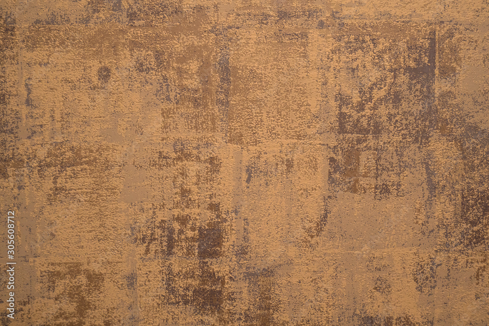 Fototapety, obrazy: Cement background with a texture of gold wall