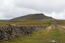 A View Of The Peak Of Pen-y-ghent In The Yorkshire Dales