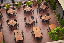 Restaurant Terrace Tables At H...