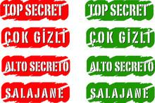 We Designed Top Secret Icon