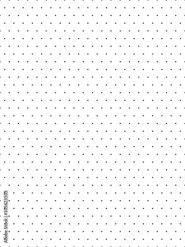 Small polka dot pattern background - 305623503