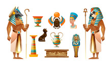 Egypt Old Symbols, Sacred Anim...