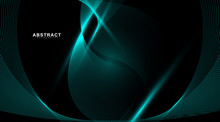 Abstract Background Of Wavy An...