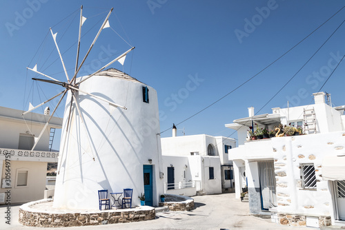 Valokuvatapetti molino en grecia