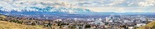 Panorama Of Salt Lake City In ...