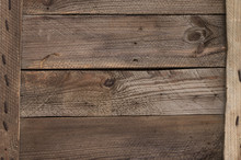 Distressed Weathered Wood Text...