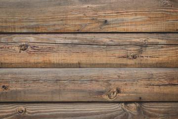 Vintage brown wood fence, desk surface. Natural color. Brown old planks. Weat...