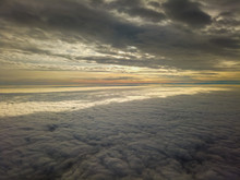 Flying Between The Clouds