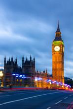Big Ben Clock Tower And Parlia...
