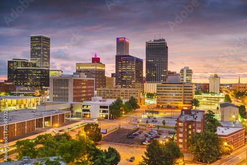 Photo  Tulsa, Oklahoma, USA Skyline