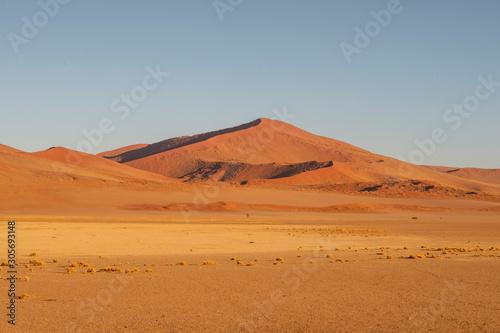 red dunes in Namibia Fototapet