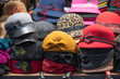 Hats for sale at Covent Garden Market