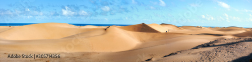 Foto National park of Maspalomas sand dunes
