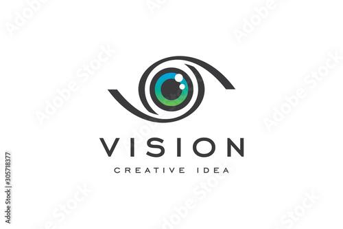 Obraz Creative Eye Concept Logo Design Template - fototapety do salonu