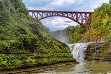 Upper Falls And Genesee Arch B...