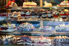 A Variety Of Desserts And Cake...