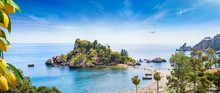 Panoramic View Of Isola Bella,...