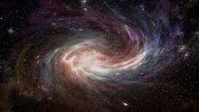 Abstract Galaxy And Nebula Ill...