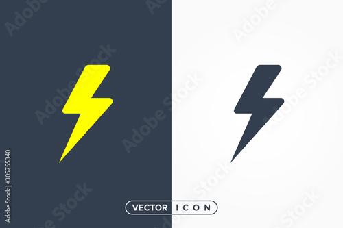 Rounded Flash Icon Fototapete