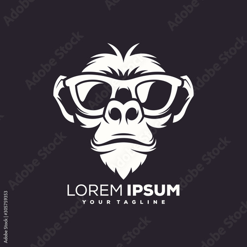 Fotografie, Obraz  Logo, Abstract Logo, illustration, lion, abstract, modern, design, digital,  cre