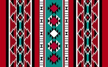 Handcrafted Rug Pattern From The Arabian Gulf Region