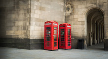 Telephone Booths In A Town Of ...