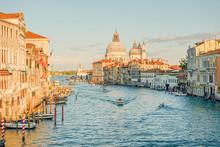 Grand Canal Venice Italy.